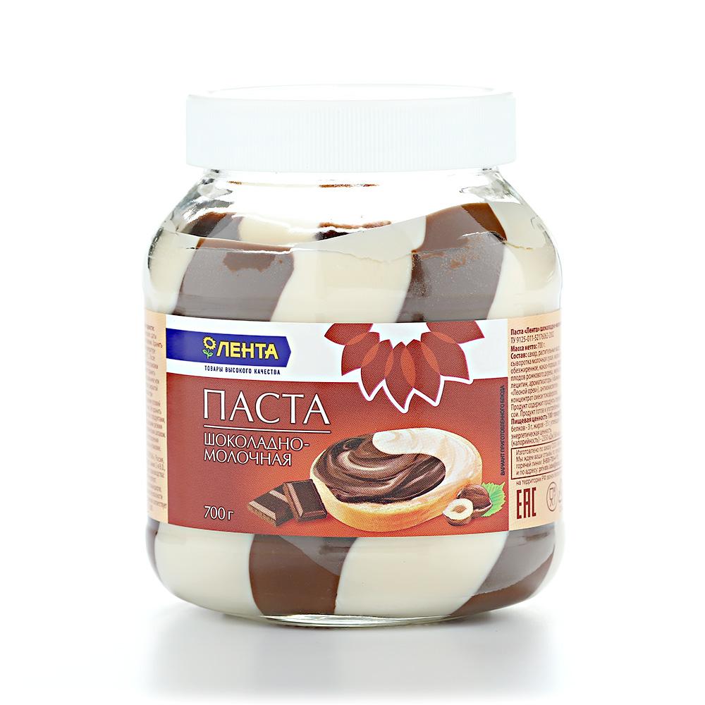 шоколадная паста Лента