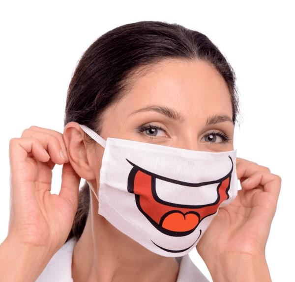 Веселая маска
