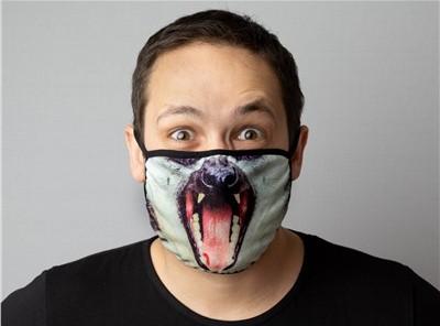маска со звериной мордой