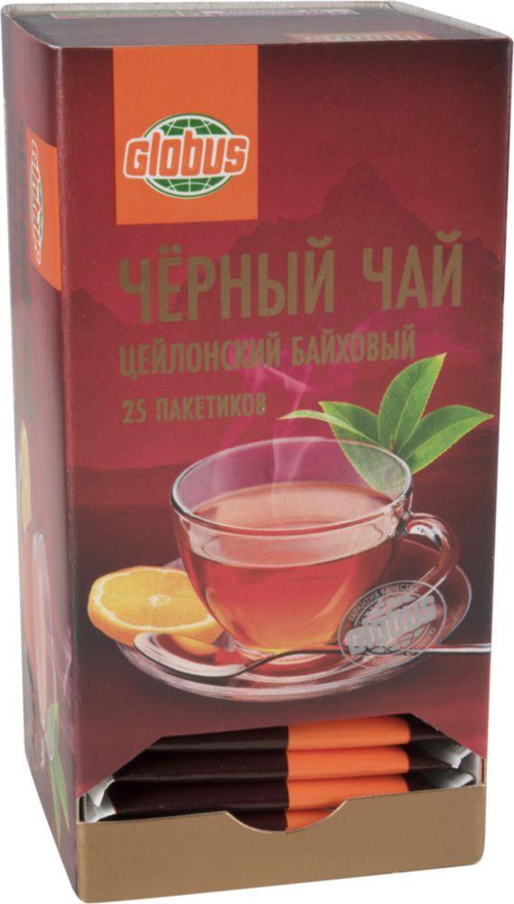 чай в пакетиках Globus