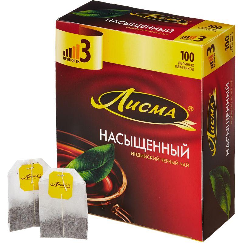 Лисма чай в пакетиках