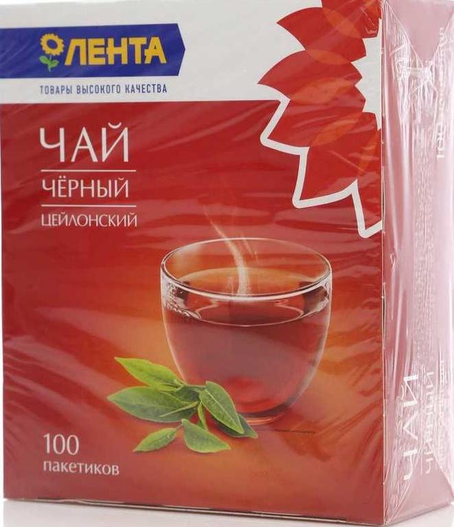 Лента чай в пакетиках