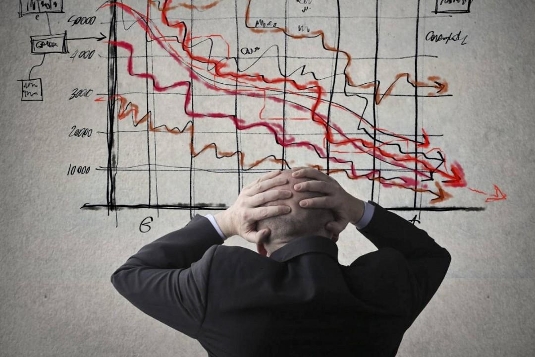 график снижения доходов от бизнеса