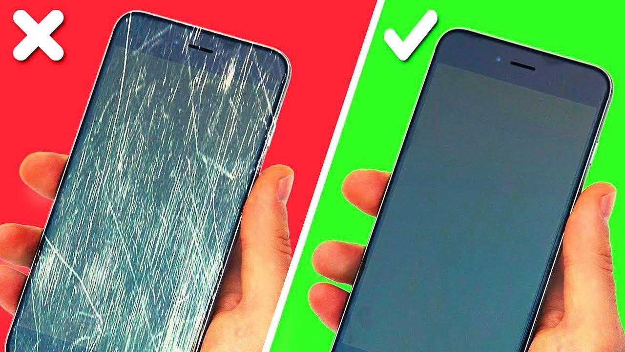 как правильно чистить смартфон