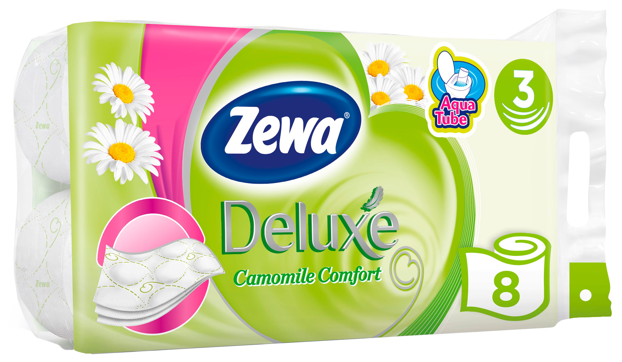 туалетная бумага ZewaDeluxe