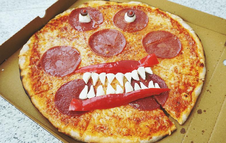 Ужасная пицца