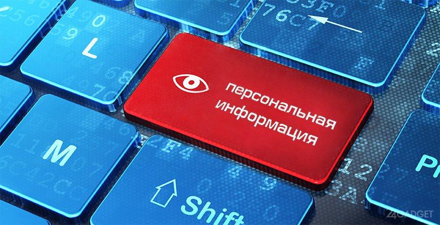 доступ к персональной информации
