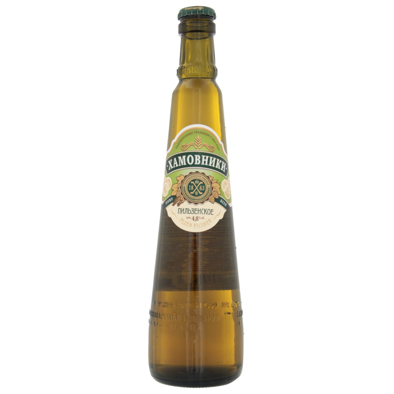 пиво Хамовники, светлое