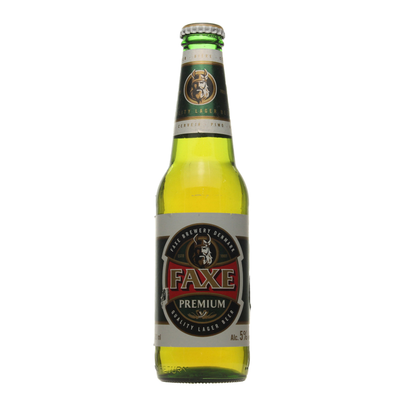 пиво FAXE PREMIUM, светлое