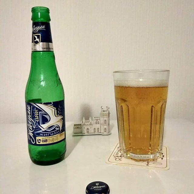 пиво Жигули, светлое
