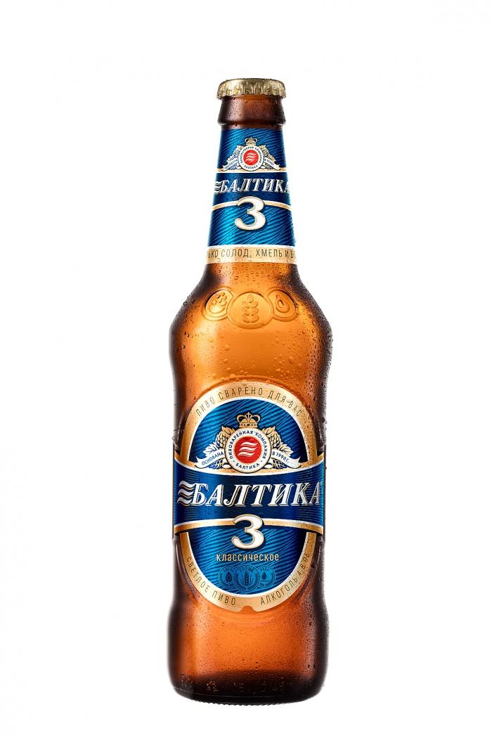 пиво Балтика, светлое