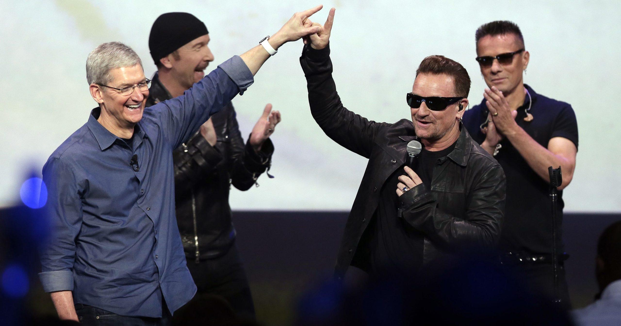 U2 и Apple