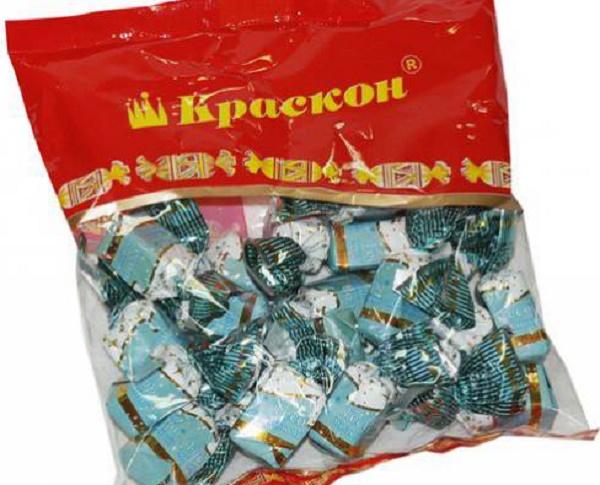 конфеты краскон