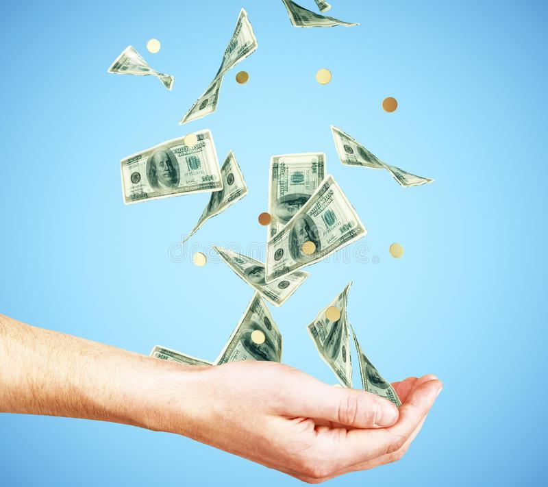 Рука и деньги