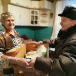 Доставка еды пенсионерам