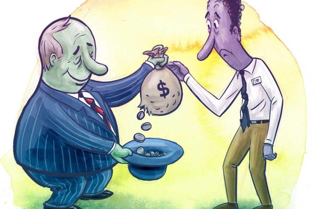 Обман в банке