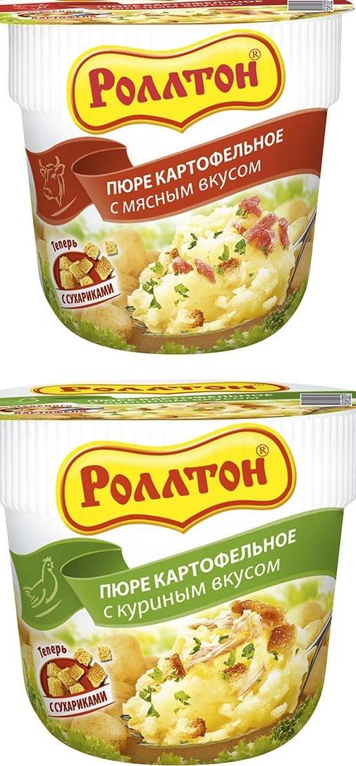 картофельное пюре Ролтон