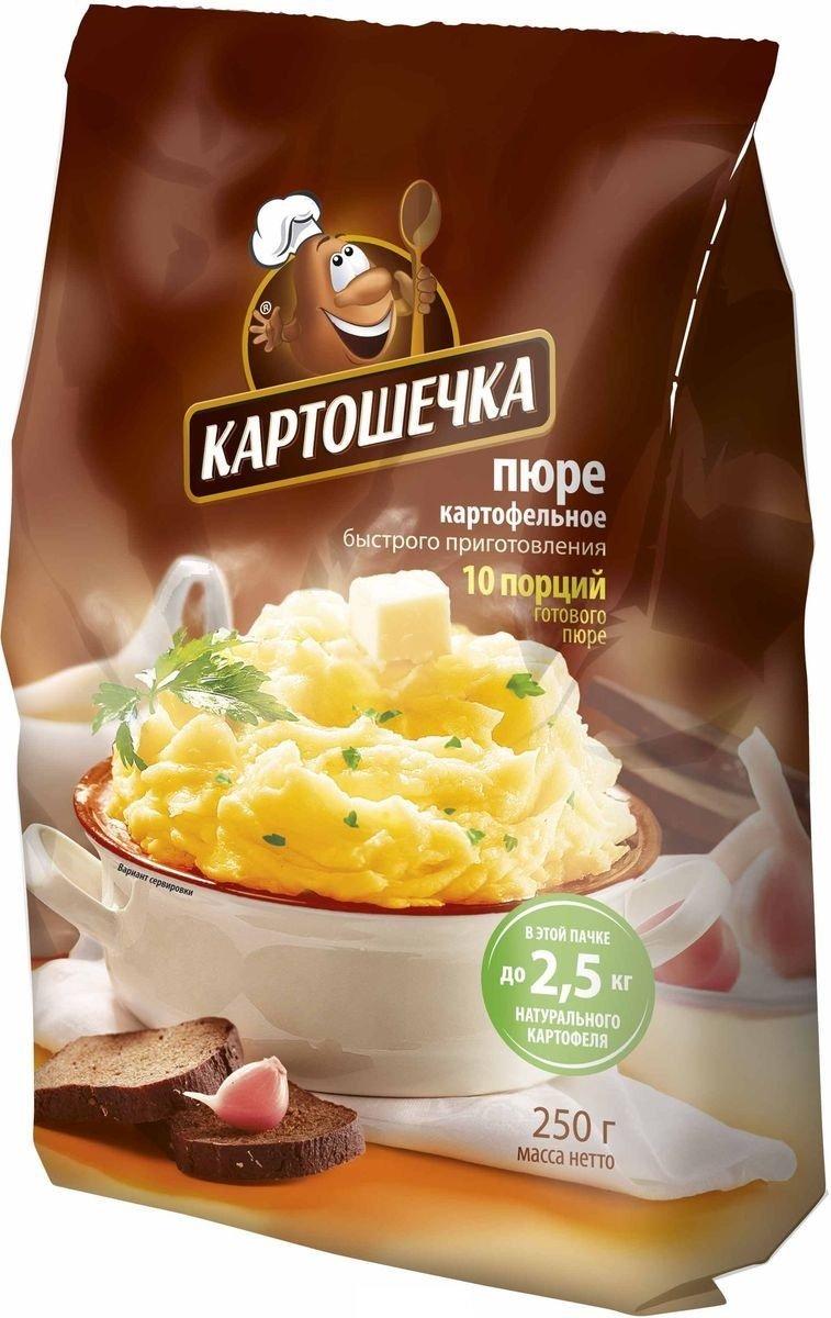 картофельное пюре картошечка
