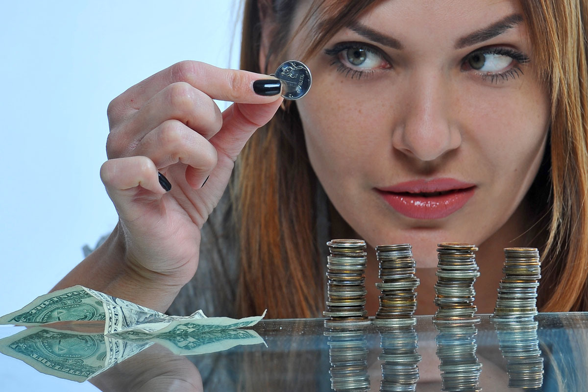считать деньги