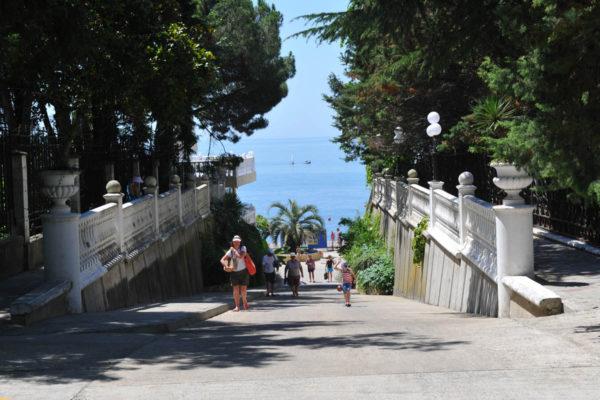 прогулка по морскому городу