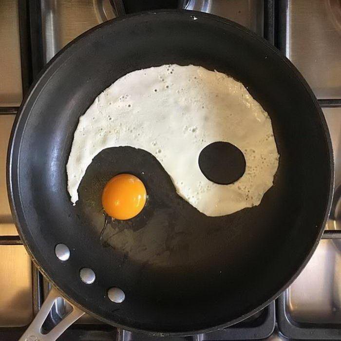 Инь Янь на сковороде Бальдини