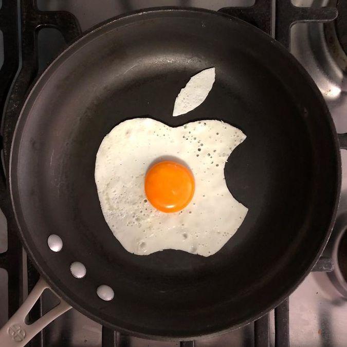 apple на сковороде Бальдини