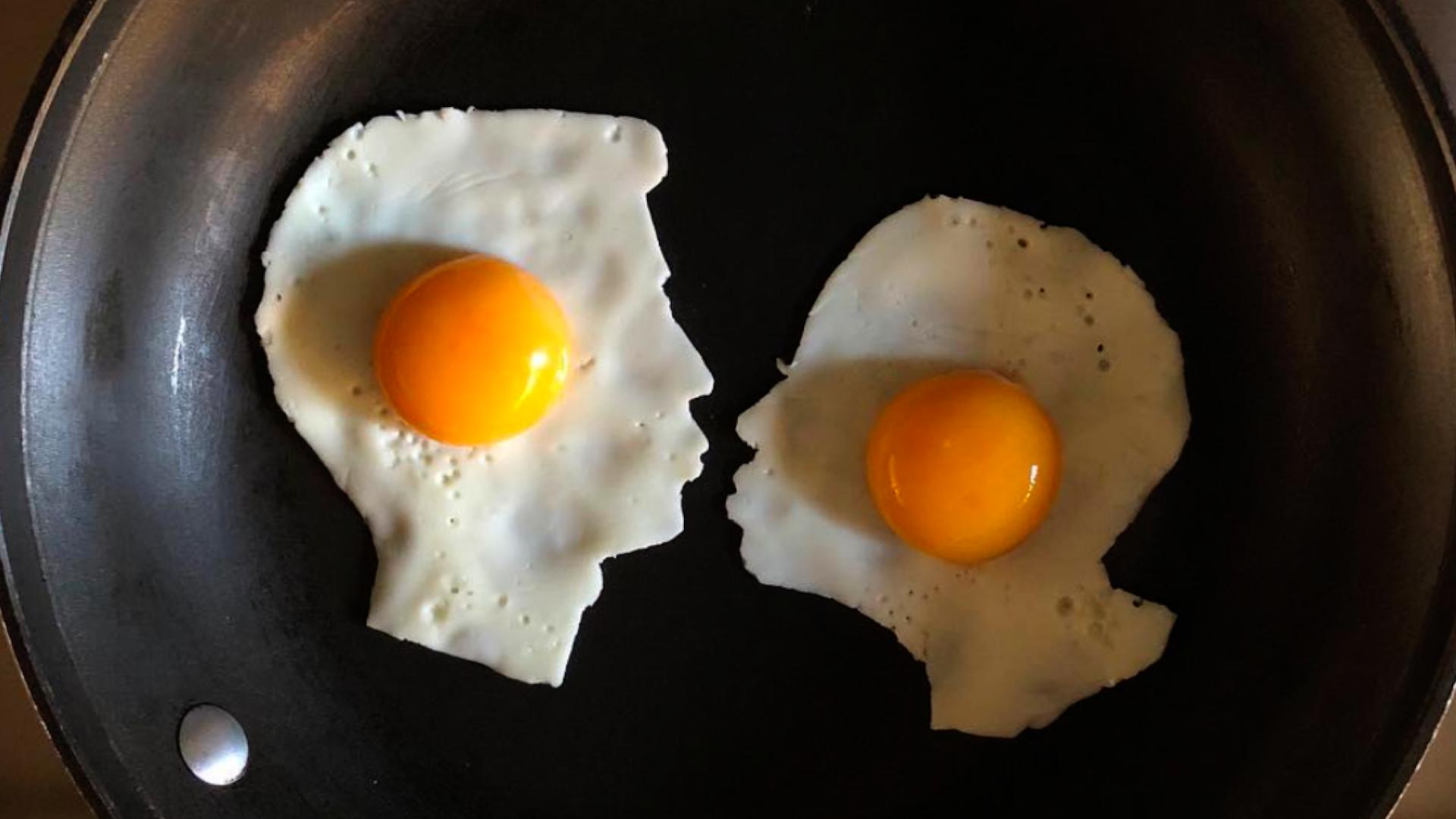 пара влюбленных на сковороде Бальдини