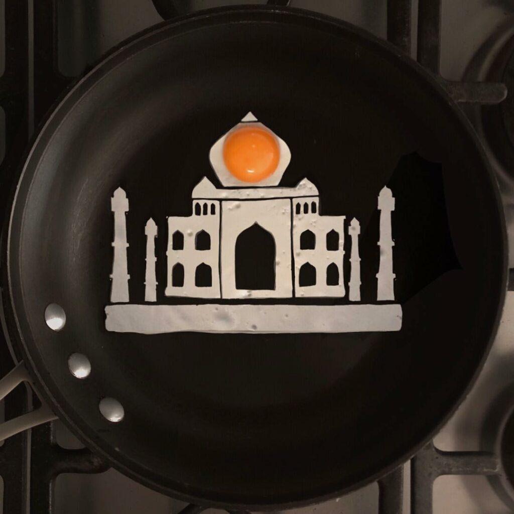 Тадж-Махал на сковороде Бальдини