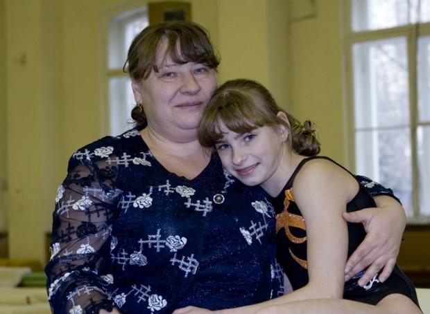 Гришина с матерью