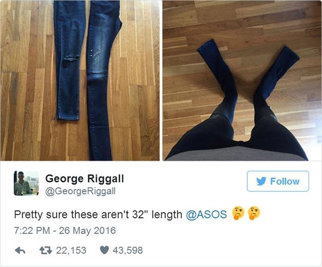 очень длинные джинсы