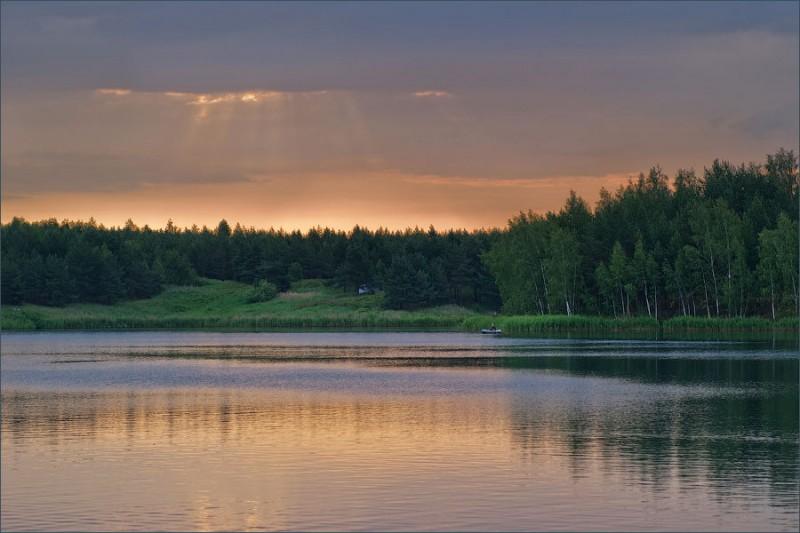 Голубые озера в Луховицах