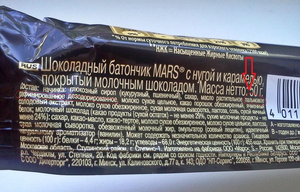 Состав Марса