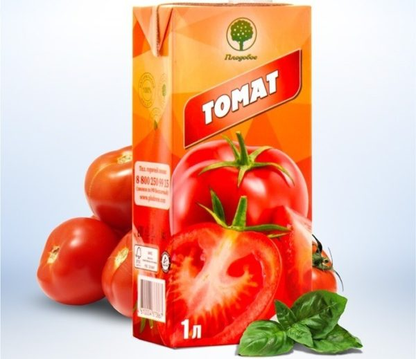 томатный сок «Плодовое»