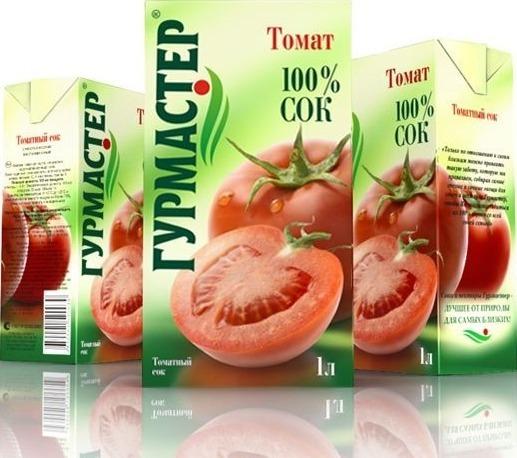 томатный сок «Гурмастер»