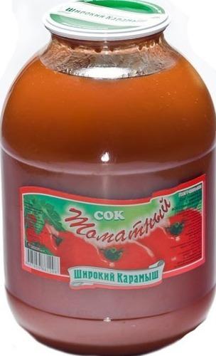 томатный сок «Широкий Карамыш»
