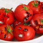 помидоры рожицы