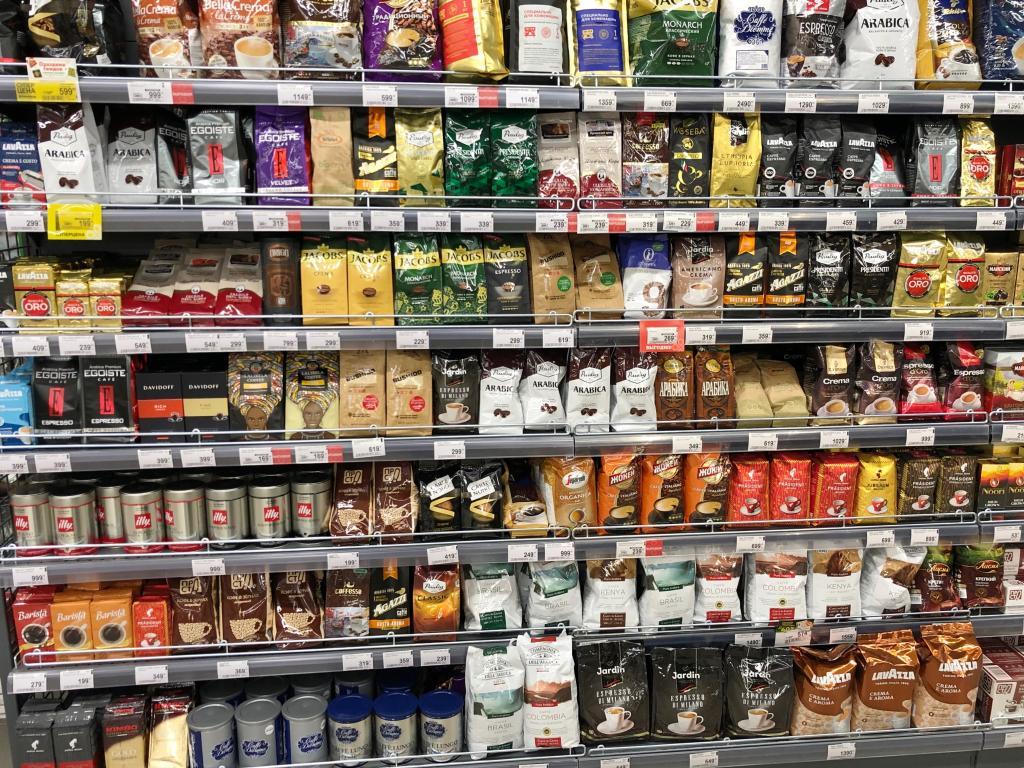 Кофе в магазине