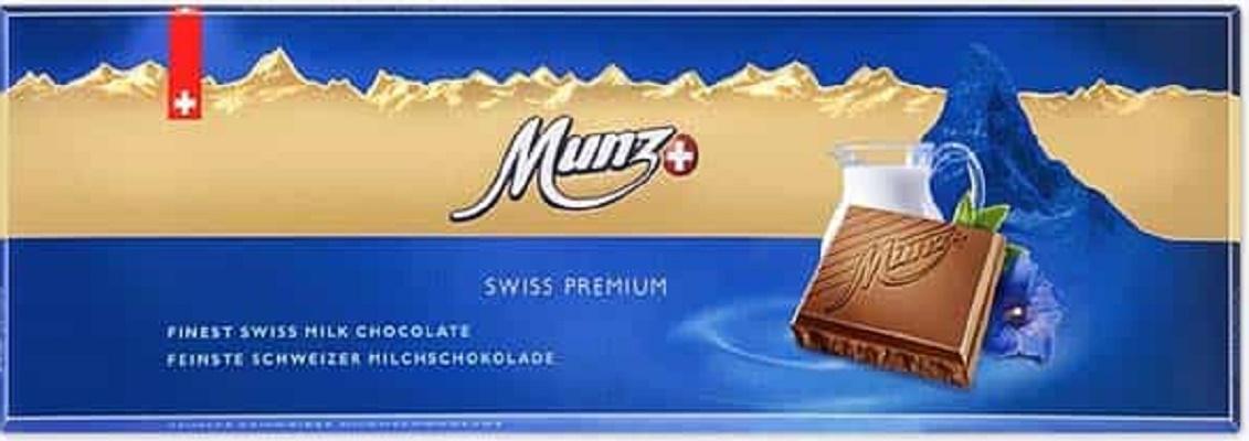 молочный шоколад Munz