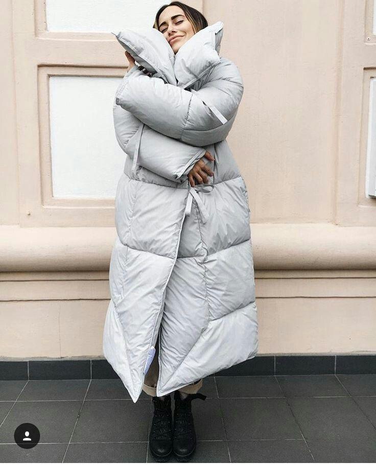 пуховик-одеяло