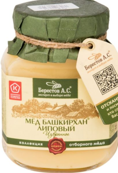 мед Берестов А.С. липовый «Башкирхан»