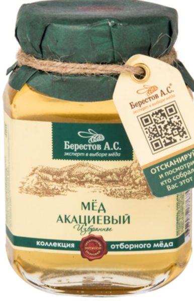 мед «Берестов А.С.» акациевый