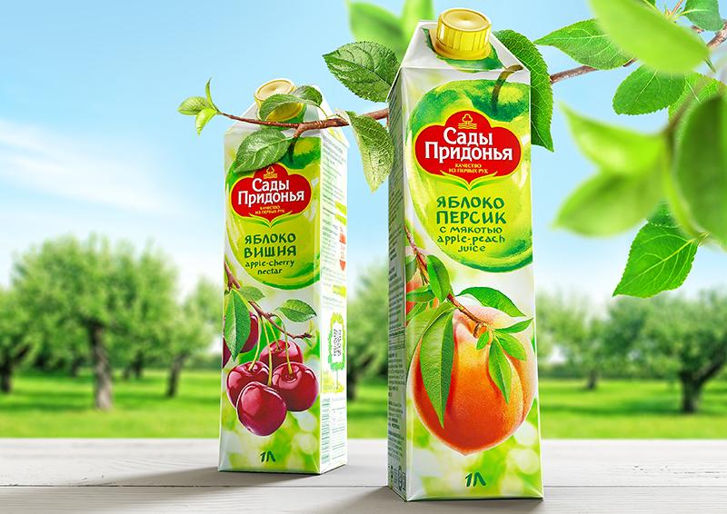 яблочный сок сады придонья