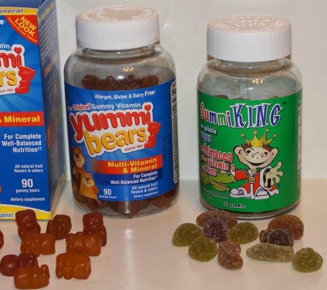детские витаминные комплексы