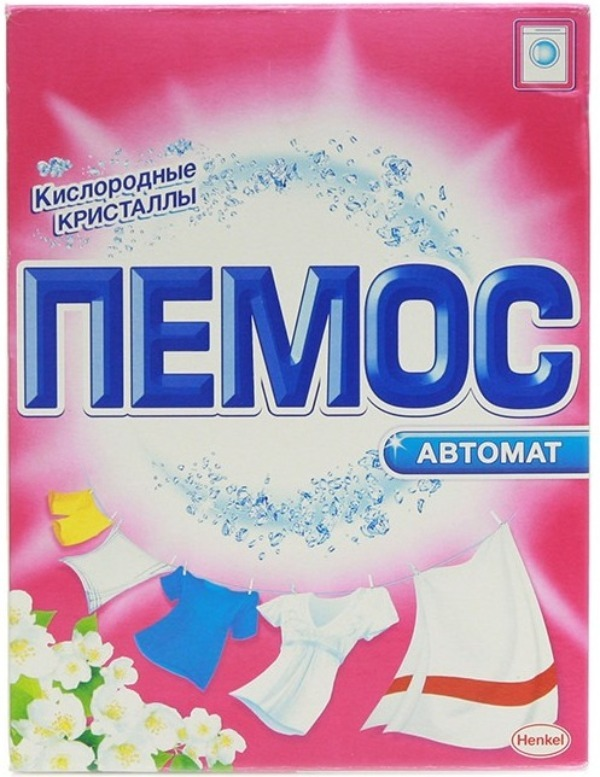 стиральный порошок Пемос
