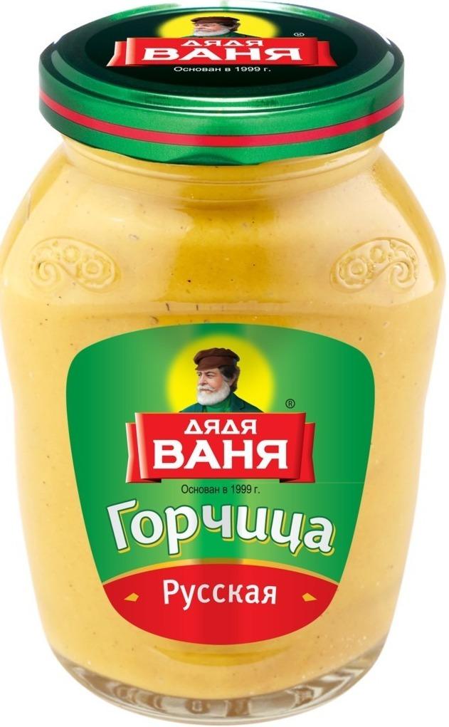 горчица Дядя Ваня. Русская