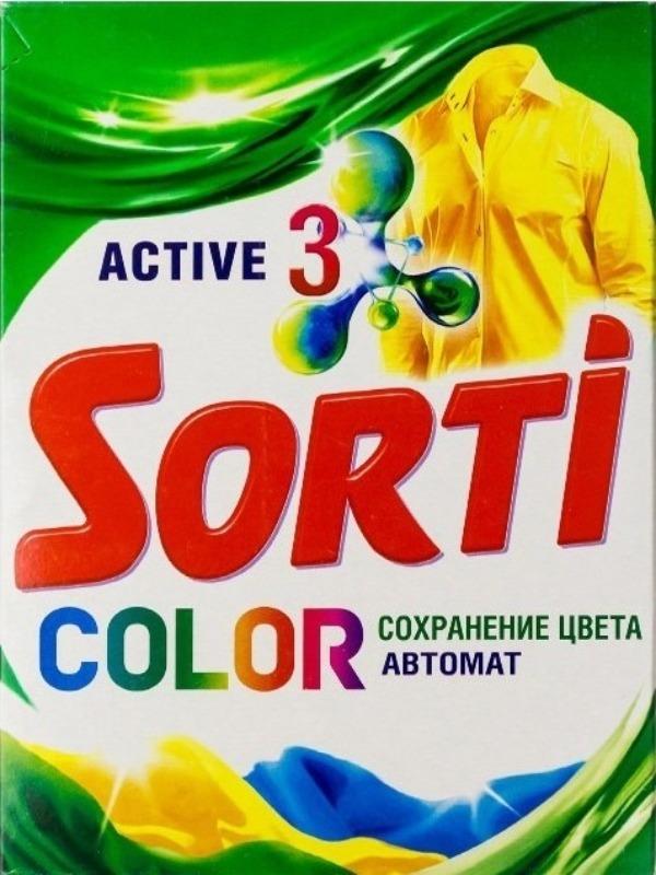 стиральный порошок Sorti
