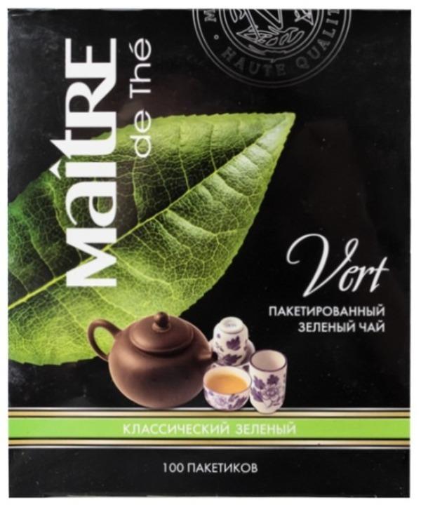 Maitre de the чай