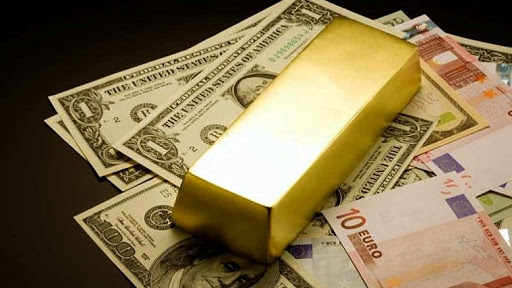 доллары, евро, золотой слиток