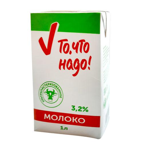 молоко То, что надо – Торжокский молочный комбинат «Тверца»