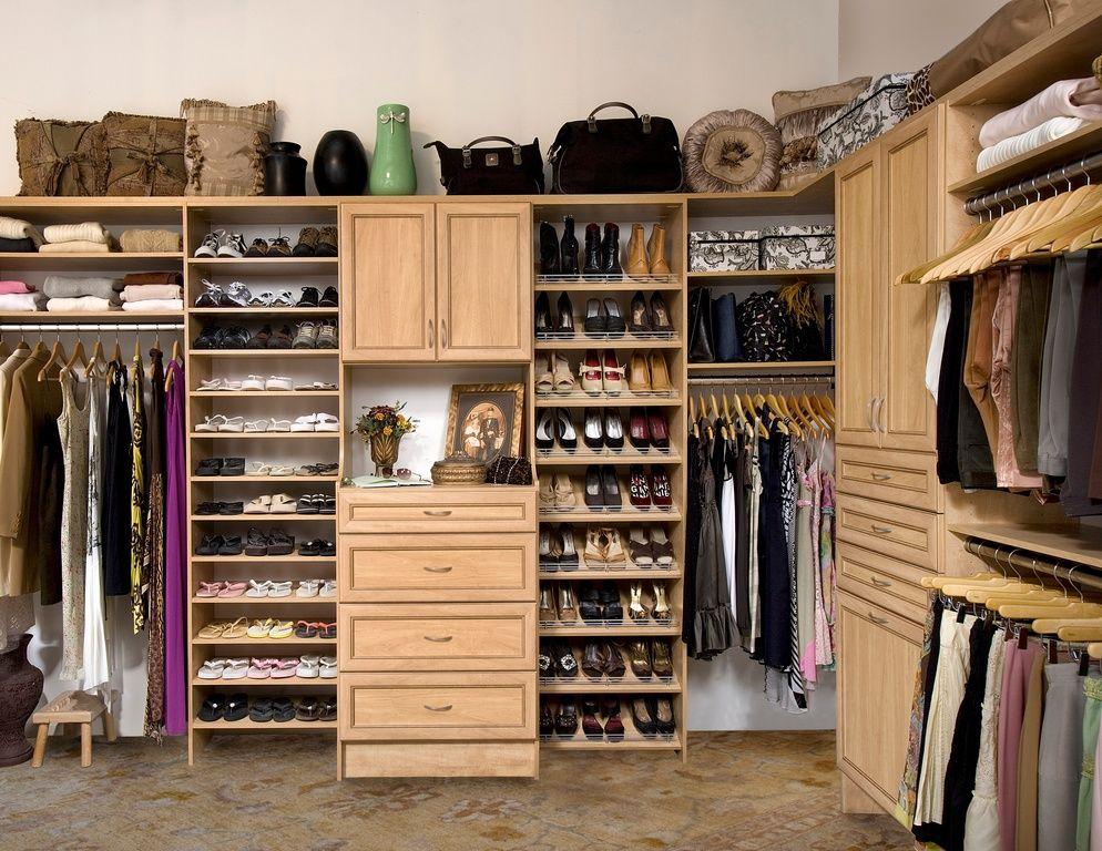 порядок в гардеробной